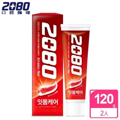 韓國2080 高階護齦牙膏120gX2入