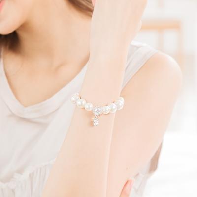 微醺禮物 鋯石 人造珍珠 夢幻公主 手鍊