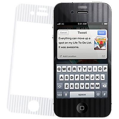 MOPAD魔貼 iPhone 4G/4S 專用炫光直條保護貼