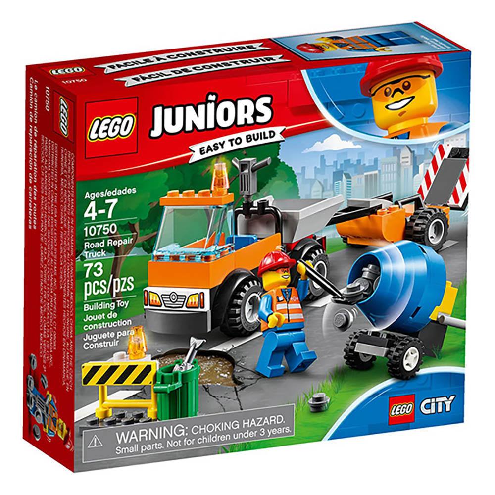 LEGO樂高 Juniors系列 10750 道路維修車