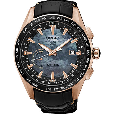 SEIKO 精工 ASTRON GPS 鈦衛星太陽能限量腕錶(SSE105J1)