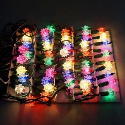 聖誕燈-鑽石燈串 (50燈)(鎢絲燈)(可搭聖誕樹)