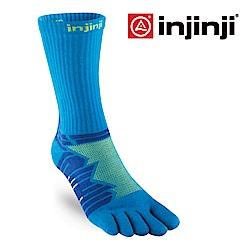 【INJINJI】Ultra Run 終極系列五趾中筒襪 [二色可選]