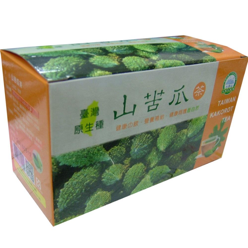 大雪山農場 山苦瓜茶包20包/盒,共4盒