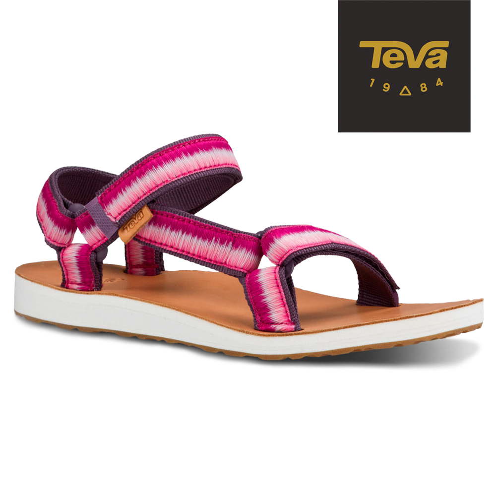 TEVA 美國-女 Original Universal 經典緹花涼鞋 (漸層紫)