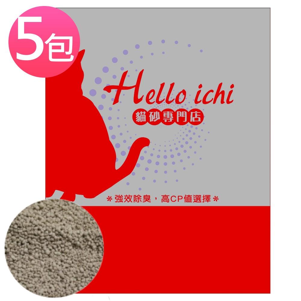 國際貓家HelloIchi 除臭小球砂 5L/包 (5包組)
