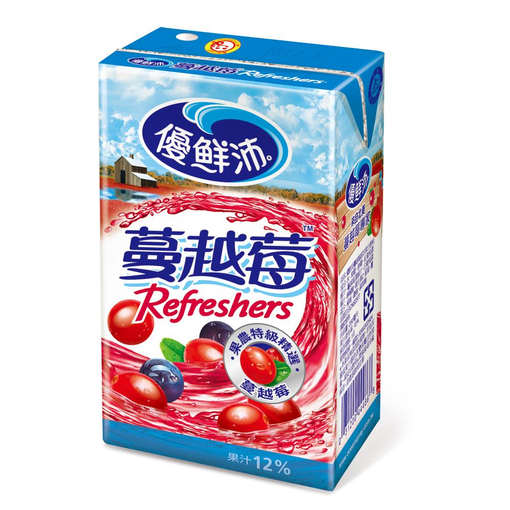 優鮮沛蔓越莓綜合果汁 (250mlx6入)