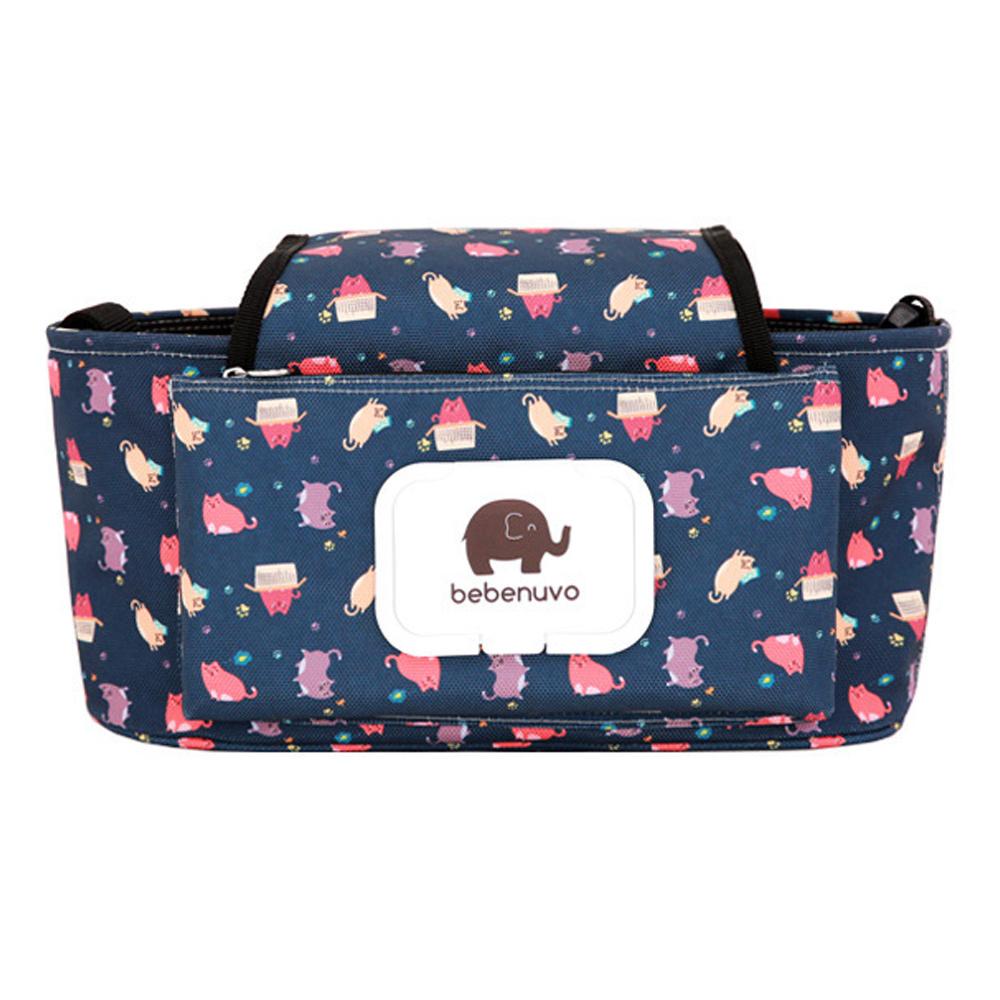 DF Queenin - 韓版人氣款紙巾推車掛袋收納袋-共3色