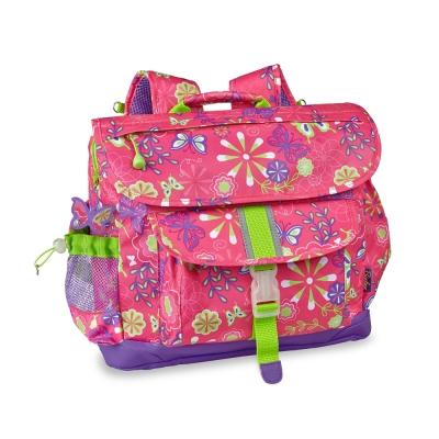 美國Bixbee - 迷彩系列彩蝶花園中童輕量減壓背書包