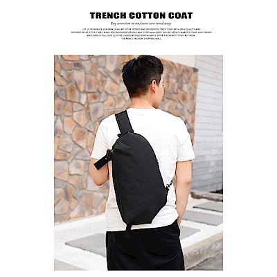 SIHAN   SH1805BK新潮10吋平板單肩背包/胸包黑色