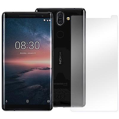LUCCIDA Nokia 8 Sirocco 9H鋼化玻璃貼【2.5D】