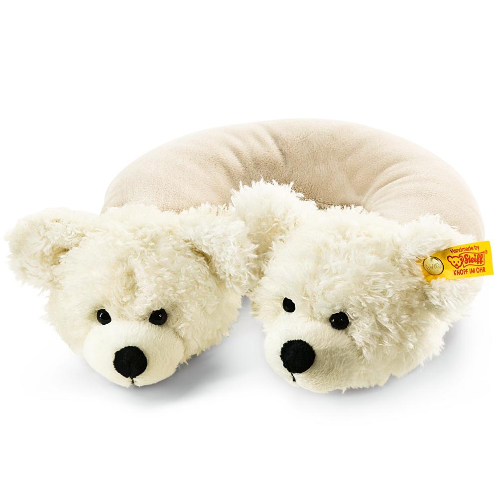 STEIFF德國金耳釦泰迪熊-Travel Neck Pillow 頸靠枕 (經典泰迪熊)