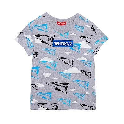 WHY AND 1/2 棉質萊卡T恤 11Y~14Y以上