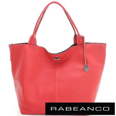 RABEANCO Classic經典系列肩背包(大) 珊瑚紅