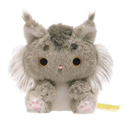 小襪貓最愛茶點系列毛絨小公仔山貓