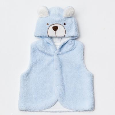 奇哥-玩具熊絨毛背心-藍色-1-5歲