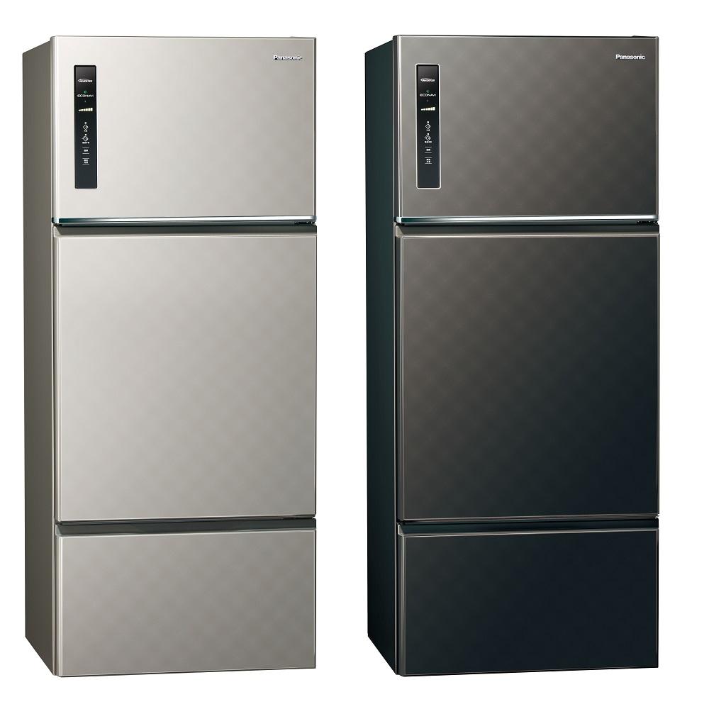 Panasonic國際牌 481L 1級變頻3門電冰箱 NR-C489TV