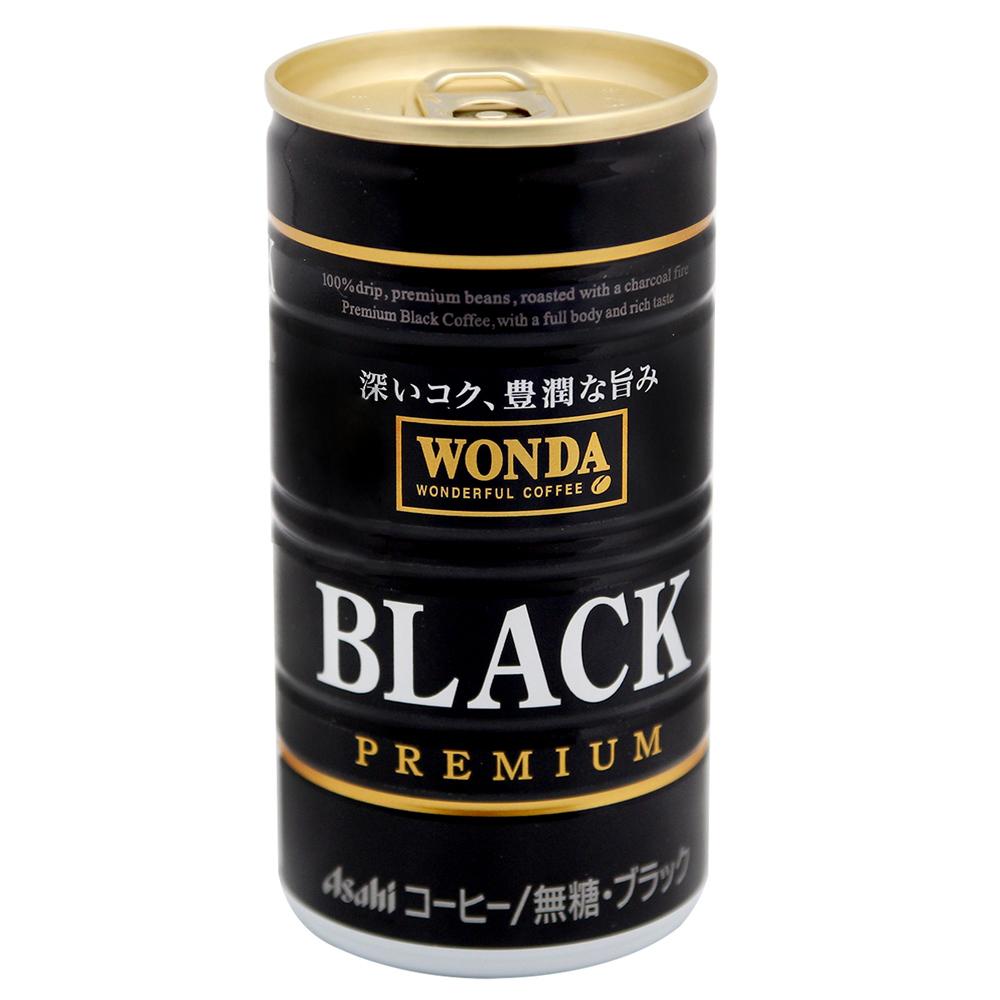 Asahi  WONDA黑咖啡[無糖] (185mlX6罐入)