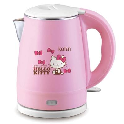 歌林Hello-Kitty雙層隔熱不鏽鋼快煮壺KP