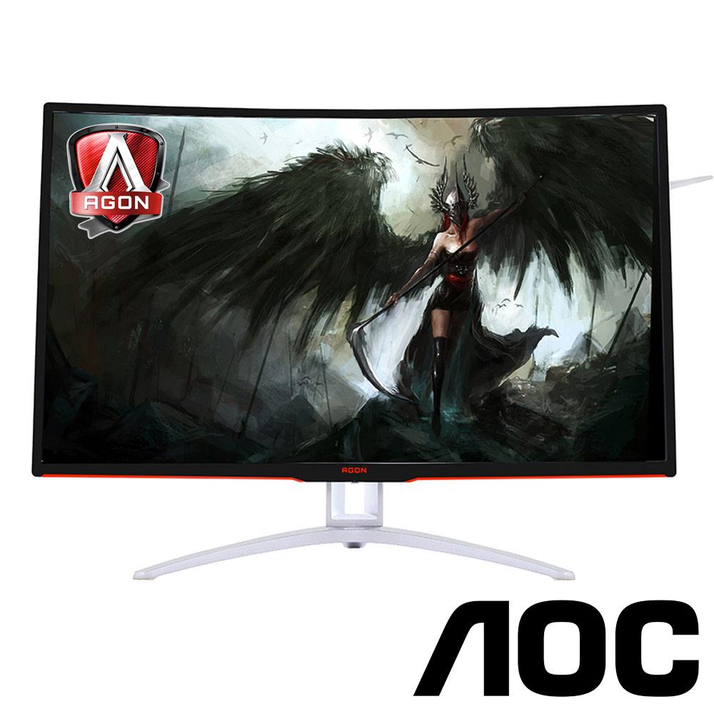 AOC AGON AG322FCX 32型 VA 曲面電競電腦螢幕