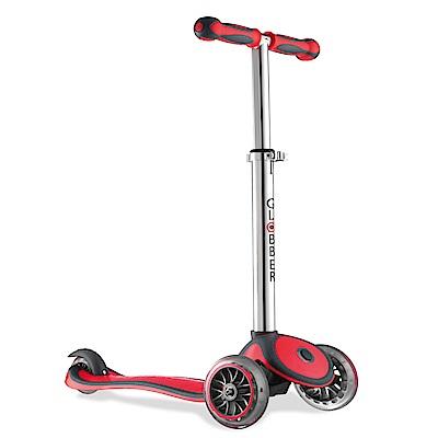 法國GLOBBER哥輪步-2合1兒童滑板車-紅色
