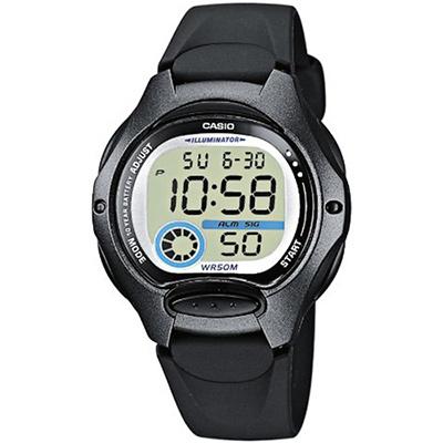 CASIO 超時空玩家電子錶(LW-200-1B)-黑框/34.9mm