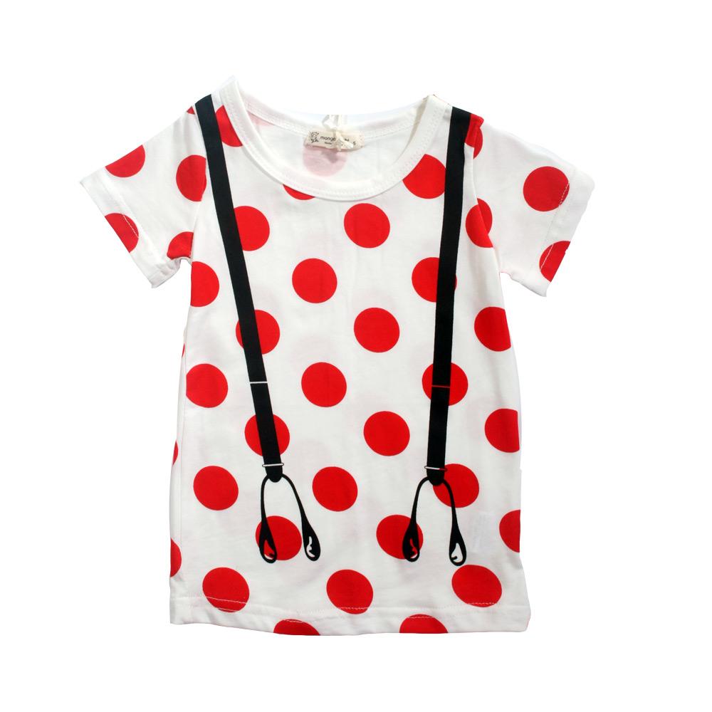 魔法Baby 兒童短袖舒適T恤 k39542