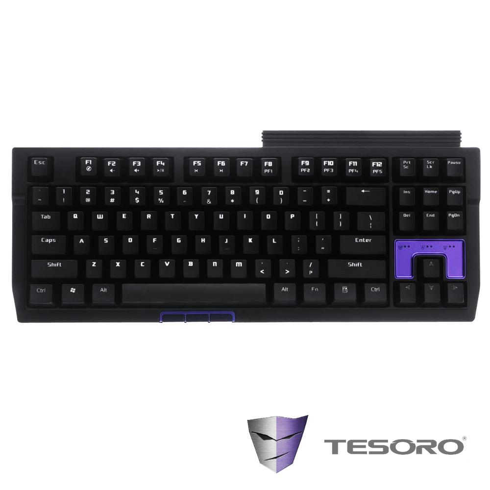 TESORO鐵修羅 Tizona 機械式鍵盤-茶軸中文