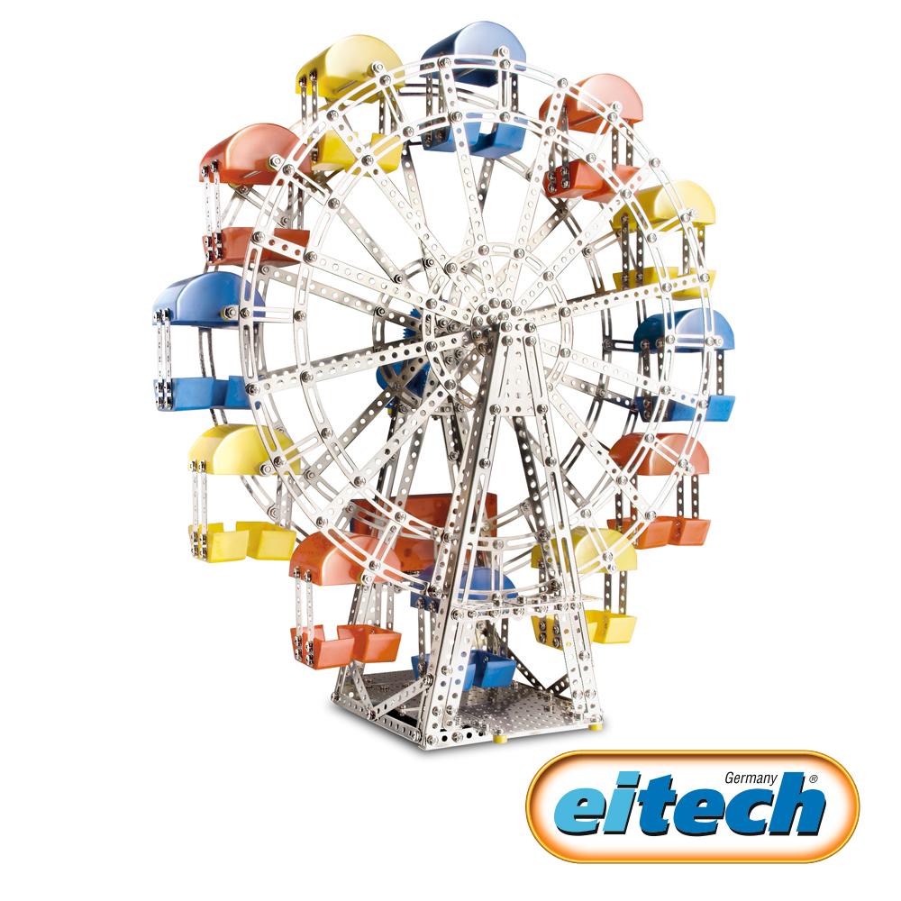 德國eitech益智鋼鐵玩具-動感摩天輪 C17