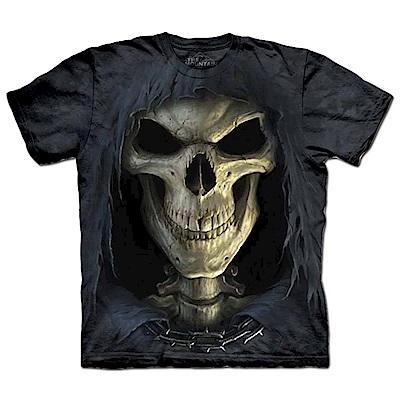 摩達客 美國進口The Mountain 大死神臉 純棉環保短袖T恤