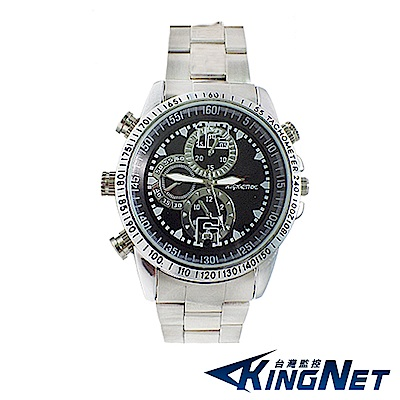 【kingNet】偽裝手錶型 4GB 針孔密錄器 談判 簽約 徵信 蒐證