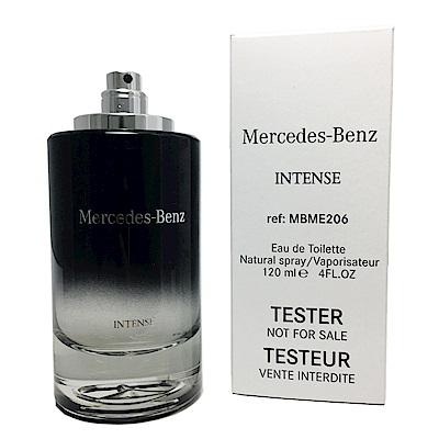 Mercedes Benz賓士  Intense極致經典 男性淡香水120ML TESTE