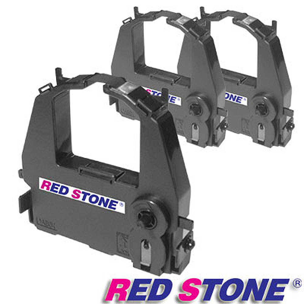 RED STONE for FUTEK DL3800/F80黑色色帶組(1組3入)