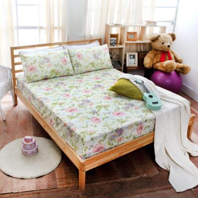 Goelia 綠映風采 雙人 超細纖 床包三件組