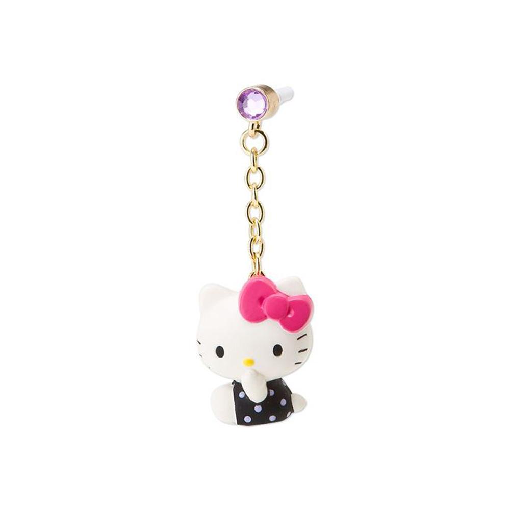 Sanrio HELLO KITTY可愛姿態系列造型耳機孔塞