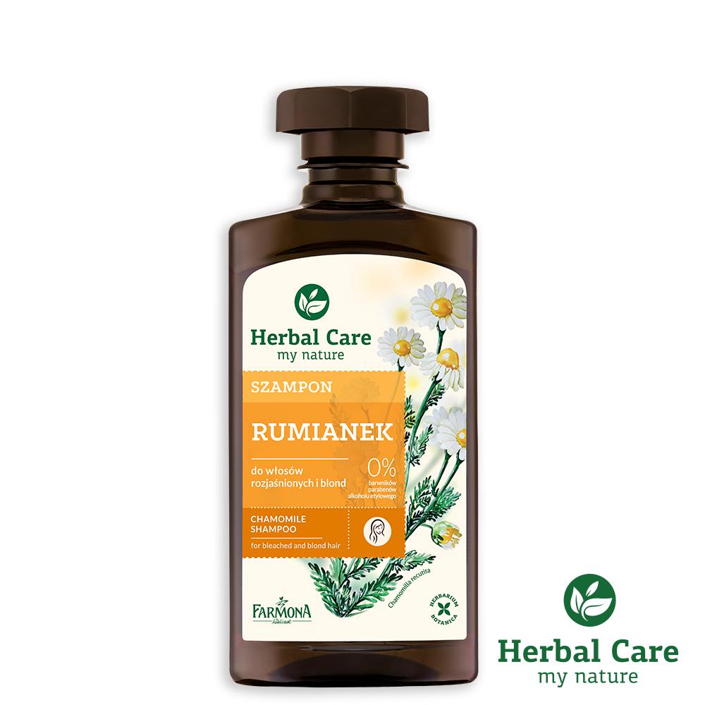 波蘭Herbal Care洋甘菊護色植萃調理洗髮露(滋養強化髮質)330ml