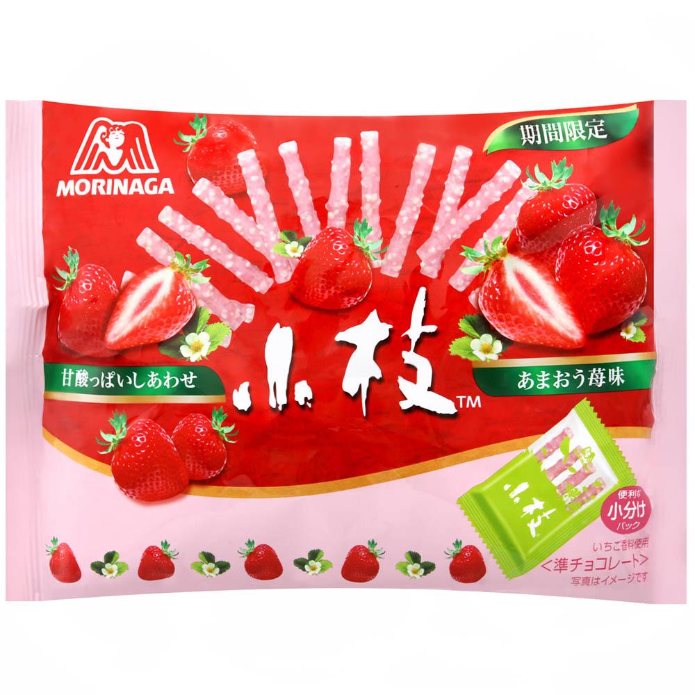 森永製果 小枝巧克力棒-草莓(133g)