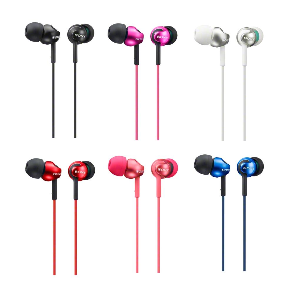 SONY時尚繽紛入耳式耳機MDR-EX110LP