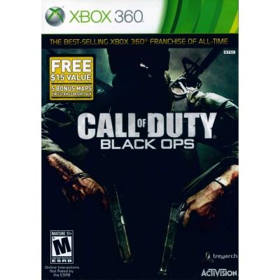 決勝時刻:黑色行動 加強版 Call of Duty-XBOX360英文美版