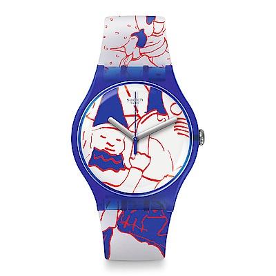 Swatch 藝術家聯名錶 和平飯店藝術中心特別款手錶