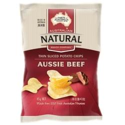 澳洲Natural牛肉口味洋芋片/BBQ口味洋芋片