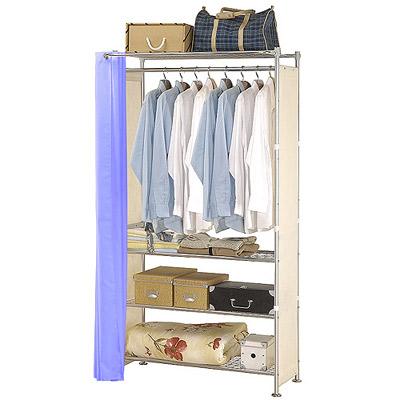 巴塞隆納-W 4 型 90 公分衣櫥架