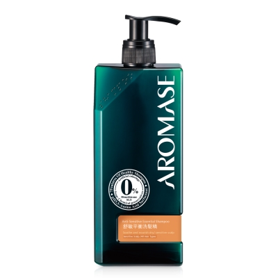 Aromase艾瑪絲 舒敏平衡洗髮精400mL-高階版