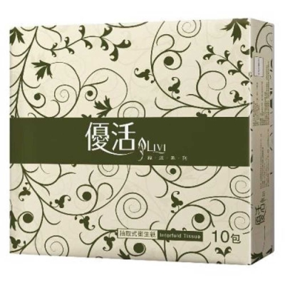Livi 優活 擦手紙(200抽20包)-箱