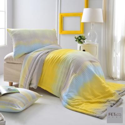 FET&co.寢飾 城市光點天絲涼被+枕套三件組