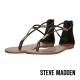 STEVE MADDEN--金屬扣飾夾腳涼鞋