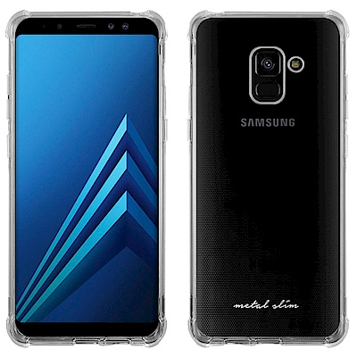 Metal-Slim Samsung Galaxy A8+ 2018 強化防摔抗...