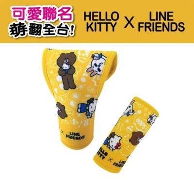 Hello Kitty ╳ LINE 聯名可愛排檔頭+手煞車護套組