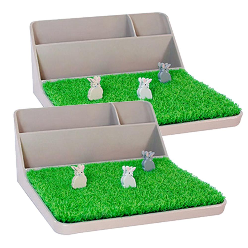 ABEL 青睞 63917 流沙棕 桌面整理收納架(二組入)