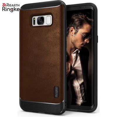 Ringke 三星 Galaxy S8 Plus Flex S 皮革紋理背蓋防撞...